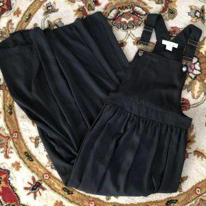 Sans Souci Black Overall Dress